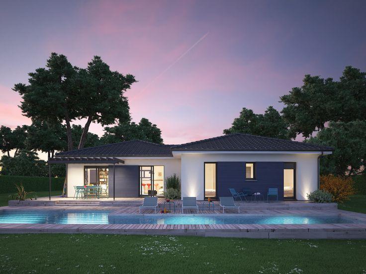 Id e relooking cuisine mod le de maison villa hortense propos par couleur villas retrouvez - Idee deco maison neuve ...