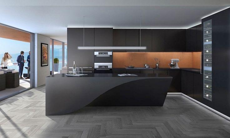 Idée relooking cuisine - modèles de cuisine moderne agencement ...