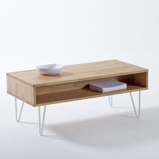 Idée relooking cuisine - Table basse, esprit vintage revisité Adza ...