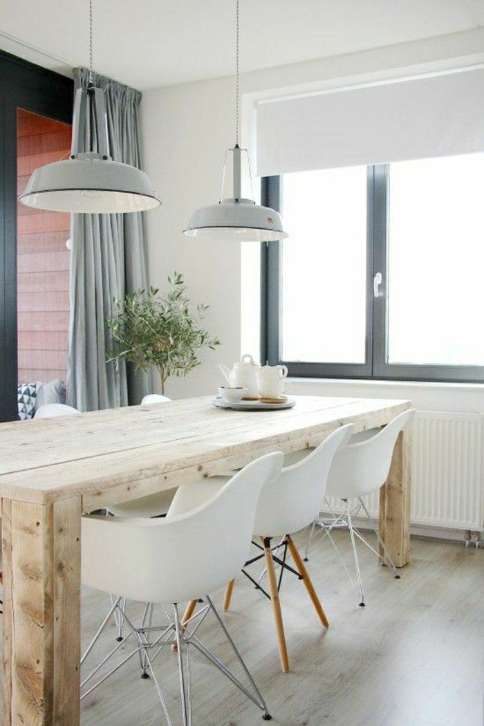 id e relooking cuisine table de cuisine mod le en bois lustre gris en fer cuisine moderne. Black Bedroom Furniture Sets. Home Design Ideas
