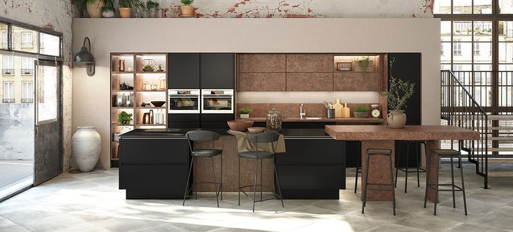 id e relooking cuisine une cuisine moderne le mod le. Black Bedroom Furniture Sets. Home Design Ideas