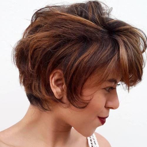Idées Coupe Cheveux Pour Femme 2017 2018 21 Courte