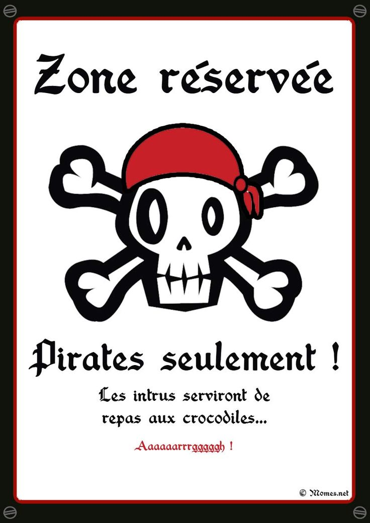 Description. Anniversaire Pirate: ...