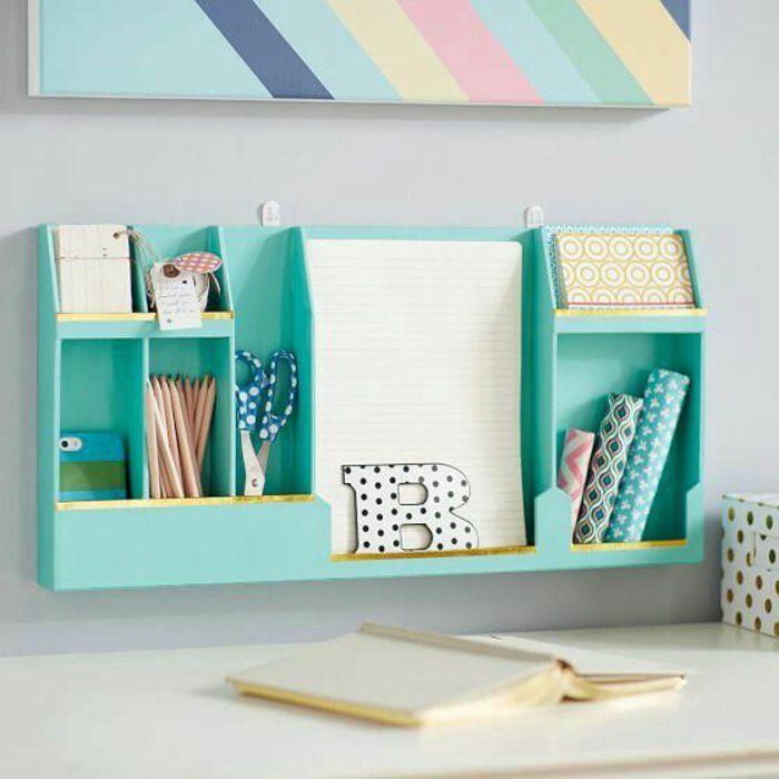relooking et d coration 2017 2018 id e de rangement originale espace bureau dans une. Black Bedroom Furniture Sets. Home Design Ideas