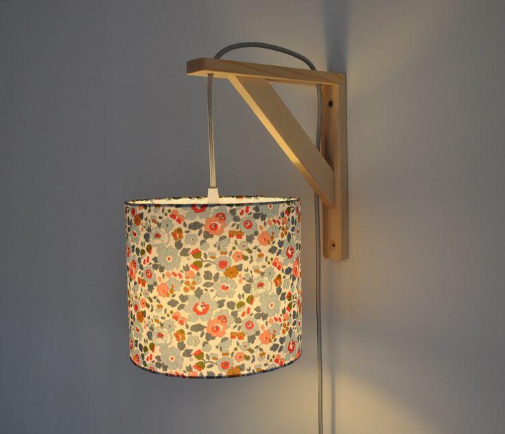 relooking et d coration 2017 2018 lampe querre applique murale liberty betsy porcelaine. Black Bedroom Furniture Sets. Home Design Ideas