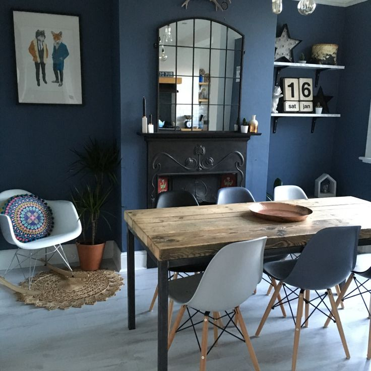 The Blue For The Hall! Little Greene