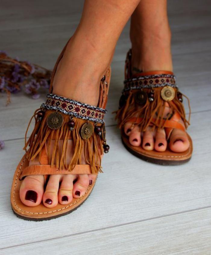 Et Idée Modele Femme 2017 Chaussures Sandales Tendance Pour Bohême I6gb7vYfy