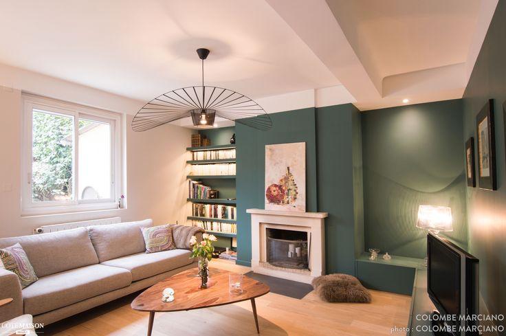 d co salon c 39 est un magnifique int rieur lumineux frais et tendance qui a pris pla. Black Bedroom Furniture Sets. Home Design Ideas