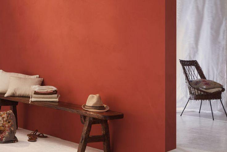 Deco Salon Chaleureux Ocre Rouge A Associer Avec Notre