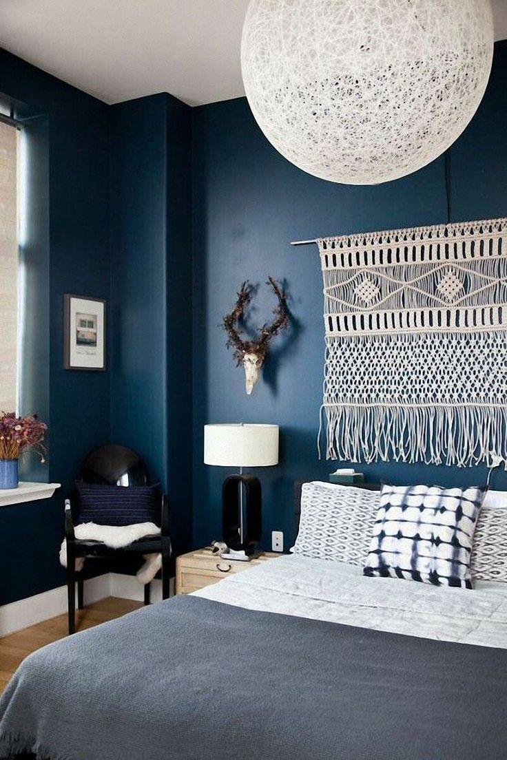 Déco Salon - Chouette, le bleu roi s\'invite avec style dans ...