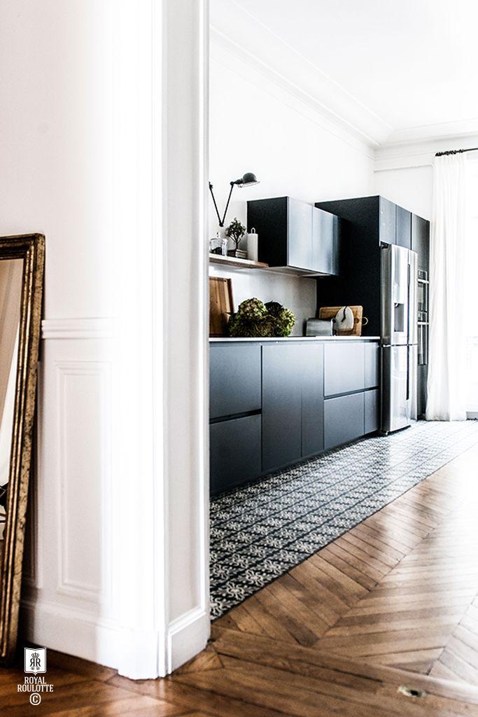 d co salon mettre une rang e de carreaux de ciment sous les plaques de cuisson listspirit. Black Bedroom Furniture Sets. Home Design Ideas