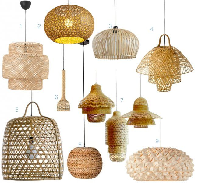 D co salon ou trouver une suspension lampe bambou - Lampe decorative salon ...