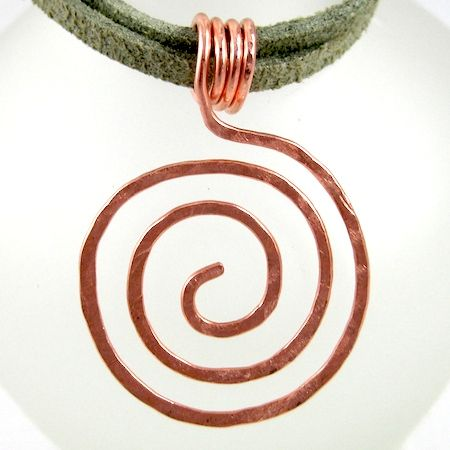 Diy bijoux zen spiral tutorial from rena klinginberg for Zen culture jewelry reviews
