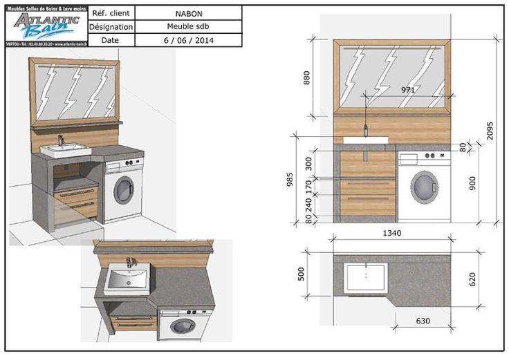 Fabriquer Meuble Salle De Bain Avec Lave Linge