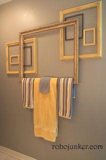 Idée décoration Salle de bain - Quelques cadres pour votre salle ...