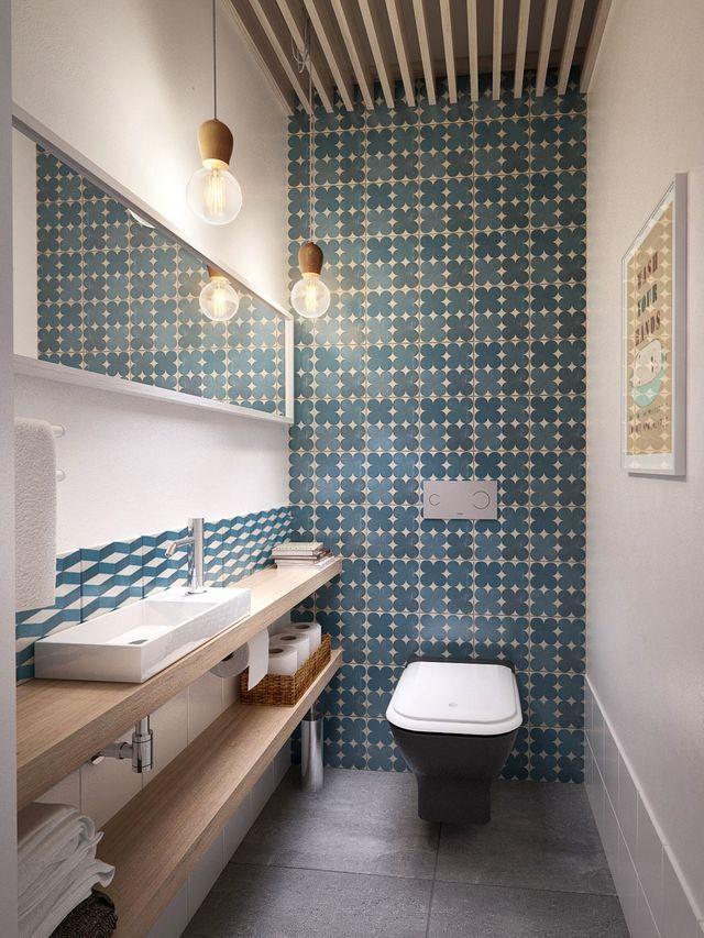 Idée décoration Salle de bain - Toilettes, WC, cabinets : déco ...