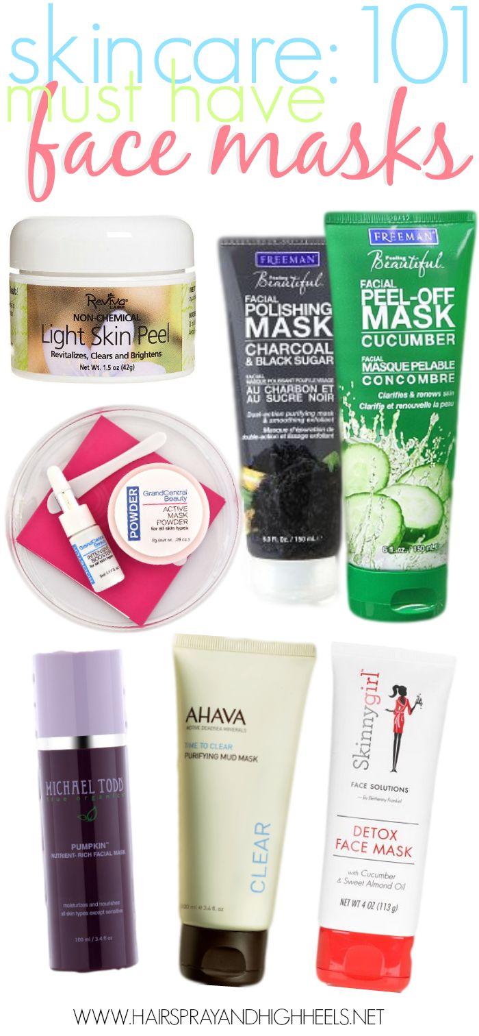 tutoriel sur les soins de la peau meilleurs masques pour le visage skincare 101 skincare. Black Bedroom Furniture Sets. Home Design Ideas