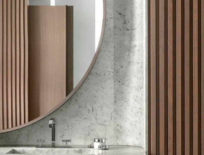 id e relooking cuisine 1 jolie et moderne salle d eau modeles salles de bains en marbre gris. Black Bedroom Furniture Sets. Home Design Ideas