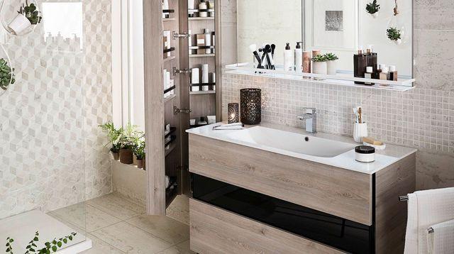 Id e relooking cuisine 20 meubles de salle bains beaux et pratiques - Cuisine et bains magazine ...