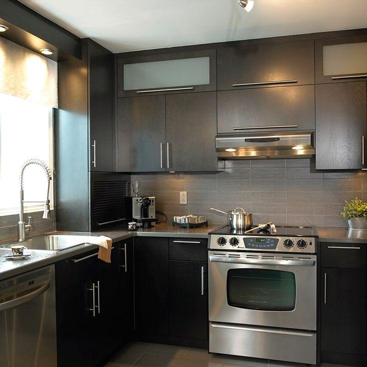 Id e relooking cuisine armoire bois plaqu avec bo te - Relooking armoire ...
