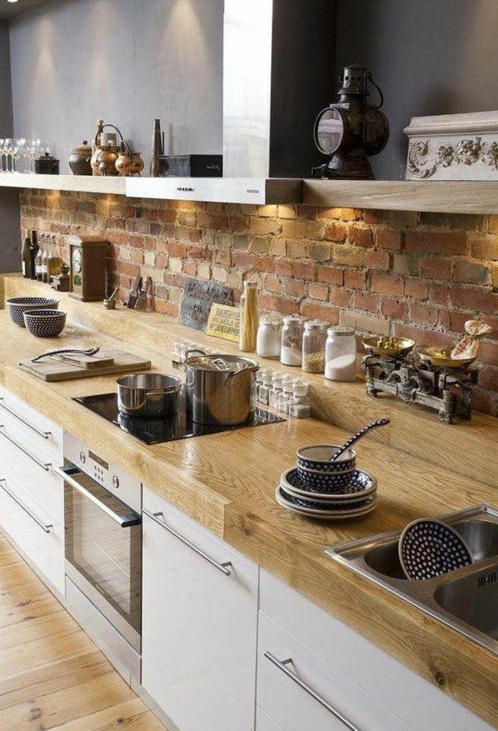 id e relooking cuisine cuisine bois massif cuisine. Black Bedroom Furniture Sets. Home Design Ideas