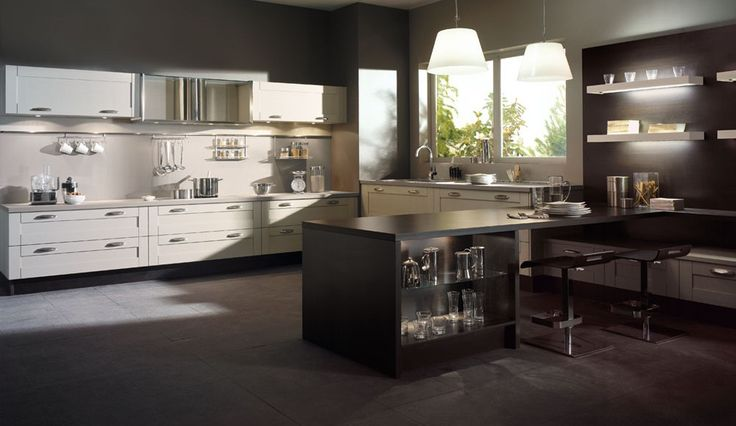 Id e relooking cuisine cuisine equipee bois serenite for Amenager cuisine non equipee