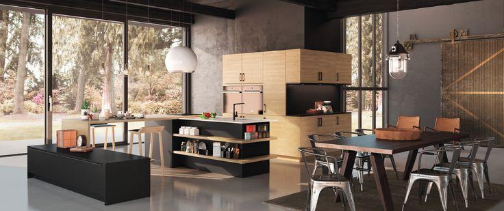 id e relooking cuisine cuisines morel mod le gaia zenit une cuisine moderne et contemporaine. Black Bedroom Furniture Sets. Home Design Ideas