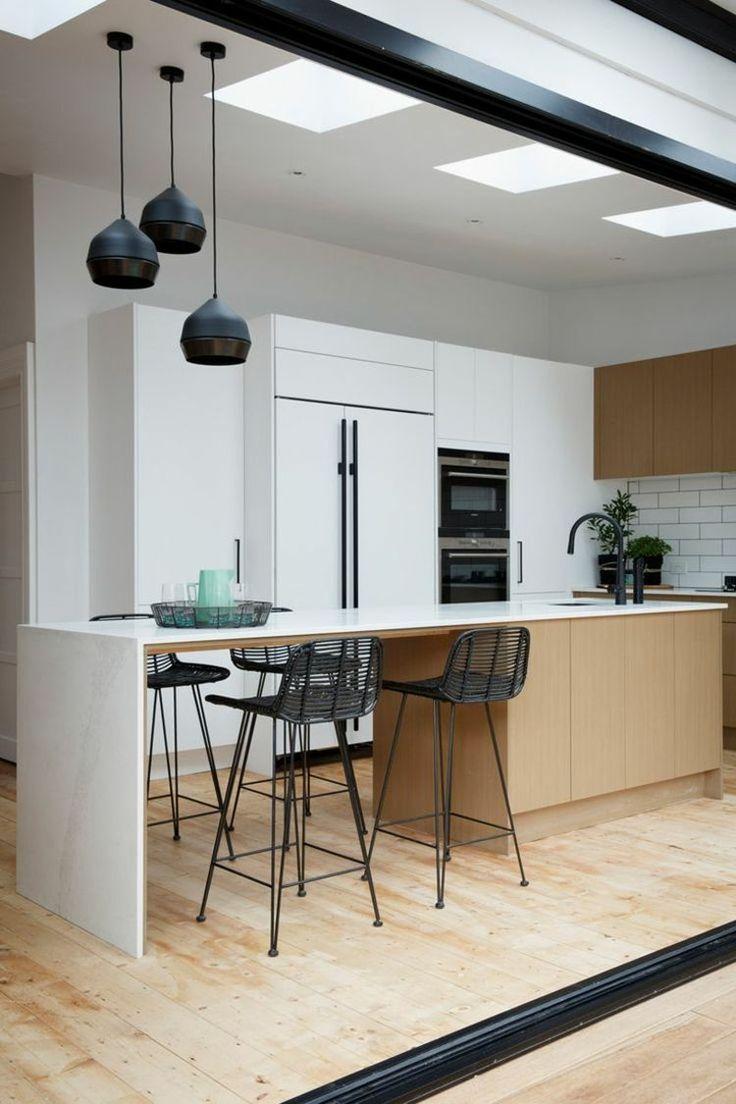id e relooking cuisine id e de d co de cuisine de style scandinave. Black Bedroom Furniture Sets. Home Design Ideas