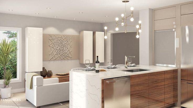 Id e relooking cuisine mod les de cuisines quip es for Modele cuisine blanche et grise