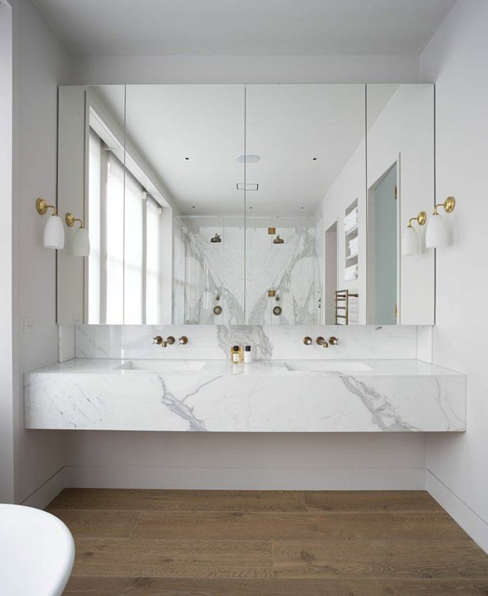 Id e relooking cuisine modeles salles de bains en marbre - Idees salle de bain moderne ...