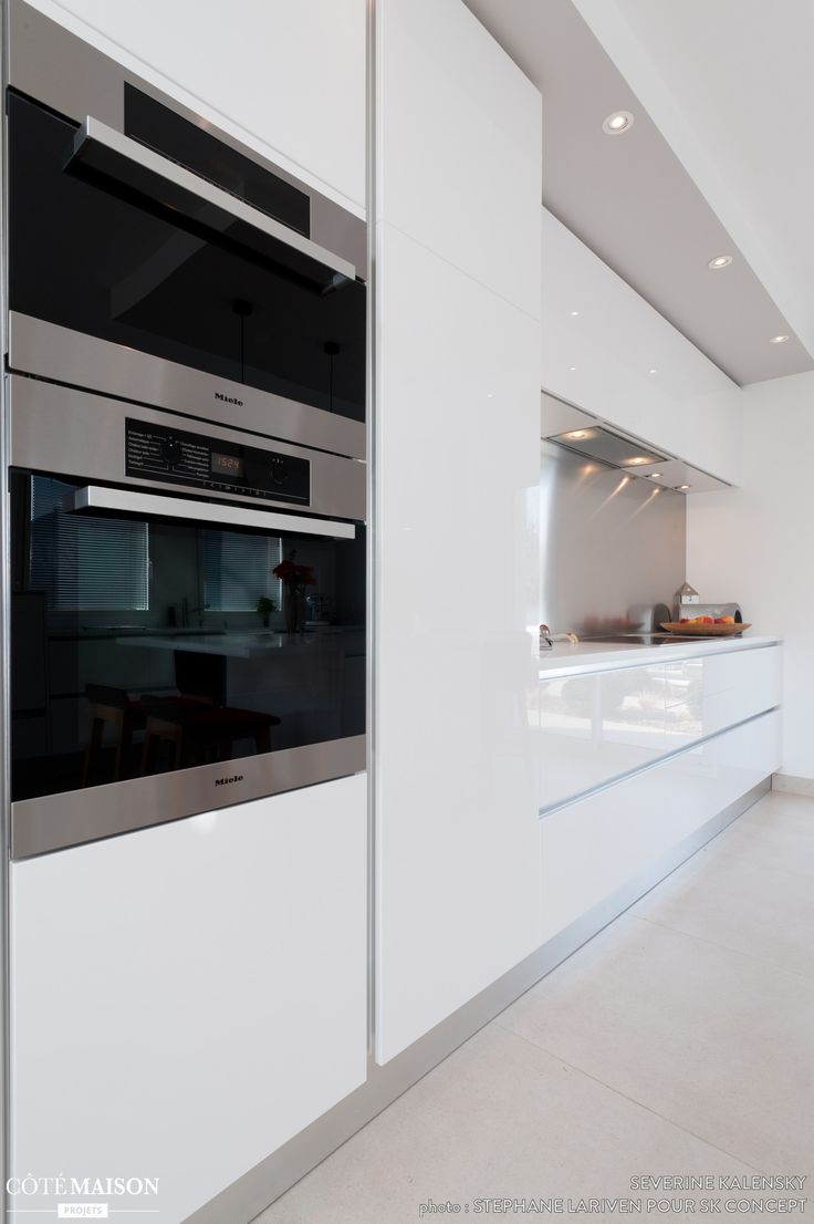 Id e relooking cuisine projet cuisine design italien - Idee cuisine avec ilot ...