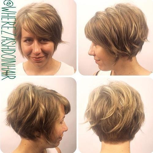 Coupe cheveux fin frange