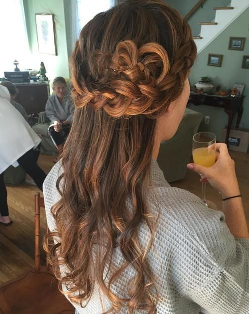 Id es coupe cheveux pour femme 2017 2018 4 demi updo for Idee coupe cheveux 2017