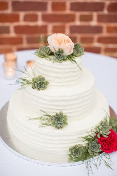 Piece Montee 2017 Simple Wedding Cake Idea Three Tier