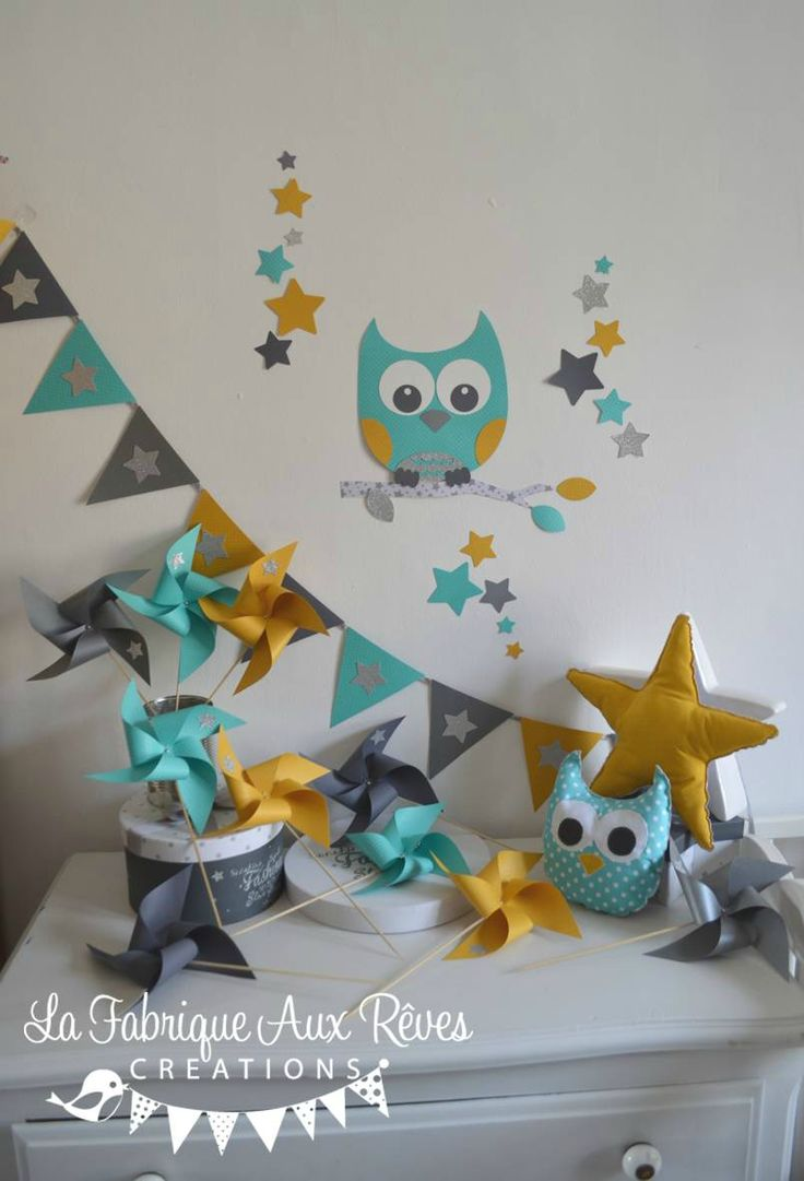 Relooking et d coration 2017 2018 d coration chambre for Stickers hibou chambre bebe