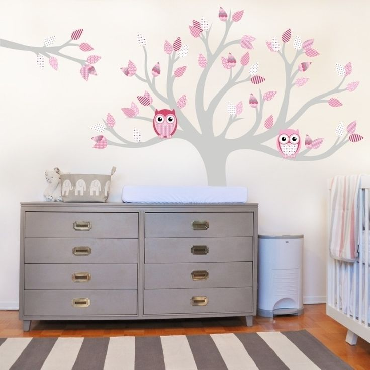 Relooking et d coration 2017 2018 sticker mural for Decoration chambre hibou