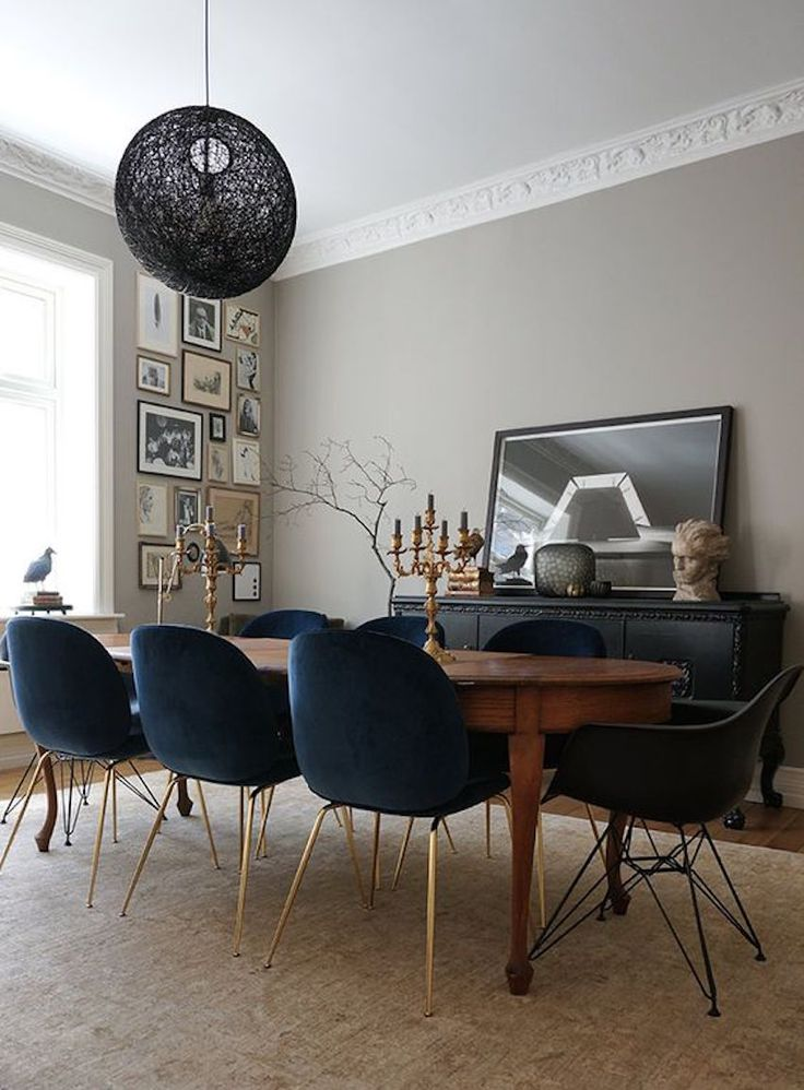 Description Chic Eclectic Dining Room