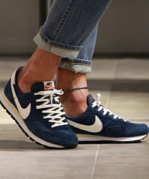 tendance basket 2017 nike air pegasus 83 pgs ltr sneakers navy blue with off white. Black Bedroom Furniture Sets. Home Design Ideas