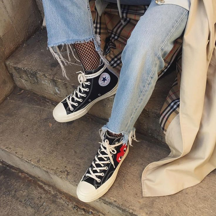 cdg converse outfit