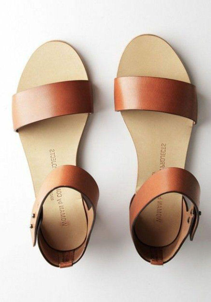 enfant magasiner pour les plus récents prix le plus bas Tendance Chaussures 2017 - sandales femme en cuir marron ...