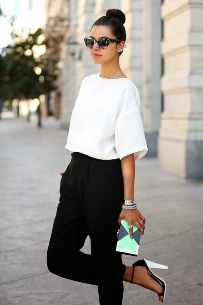 Bevorzugt Tendance Chaussures 2017 - tenue professionnelle femme en blanc et  LZ87