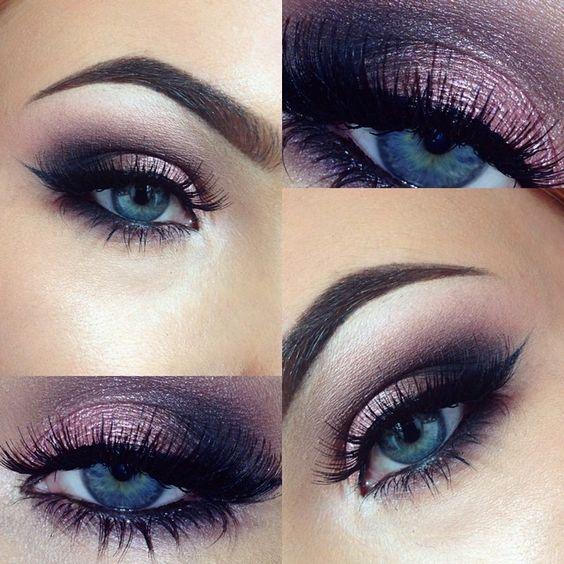 10 Maquillage des yeux impressionnant cherche des yeux bleus \u2026