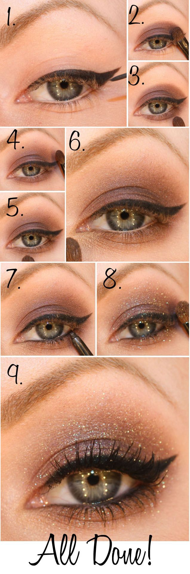 tuto make up yeux marron beautiful with tuto make up yeux marron make up with tuto make up. Black Bedroom Furniture Sets. Home Design Ideas