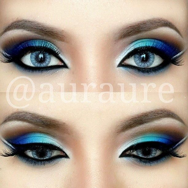Tendance maquillage yeux 2017 2018 maquillage pour les yeux bleus - Maquillage pour les yeux bleus ...