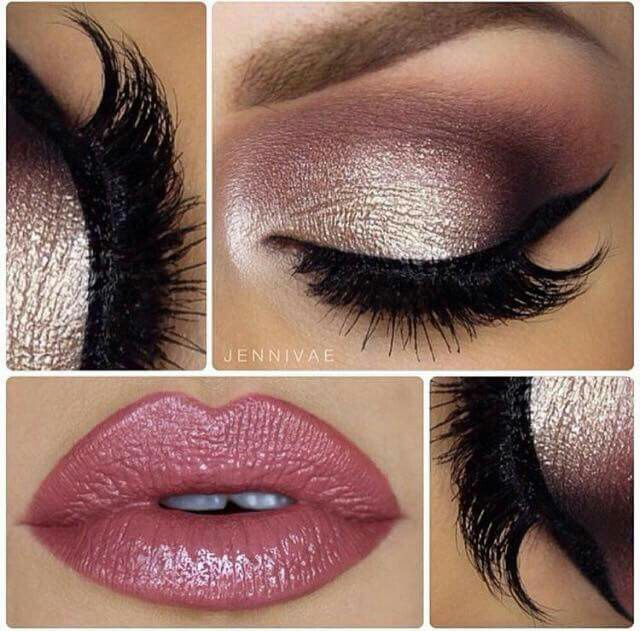 Tendance maquillage yeux 2017 2018 pourpre et or leading inspiration - Maquillage tendance 2017 ...