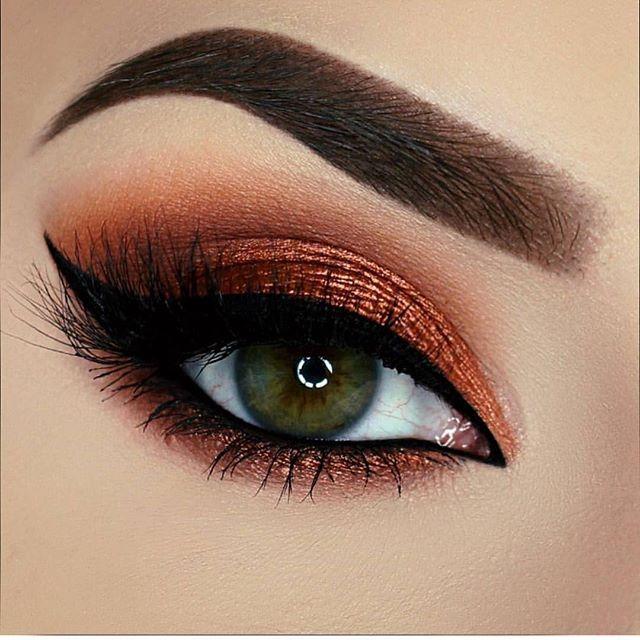 Tendance maquillage yeux 2017 2018 superbe vanyxvanja utilisant tous les ombres paupi res - Tendance make up 2017 ...