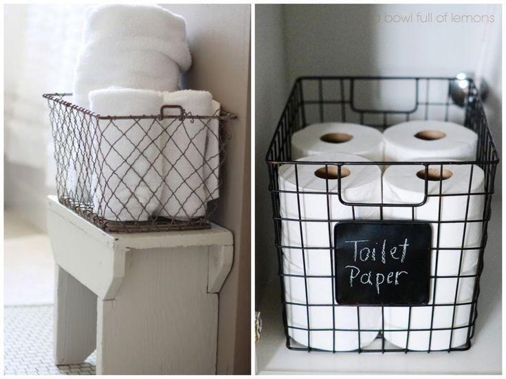 id e d coration salle de bain des id es de petit rangement pas cher pour l appartement. Black Bedroom Furniture Sets. Home Design Ideas