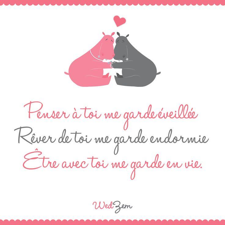 Citation   Petite citation d'amour du jour. #amour #citation