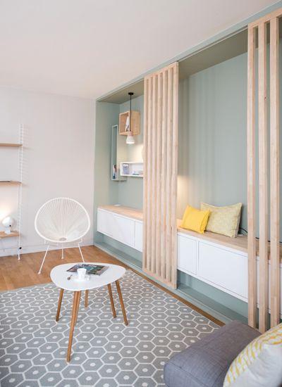 d co salon ambiance scandinave am nagement lyon. Black Bedroom Furniture Sets. Home Design Ideas