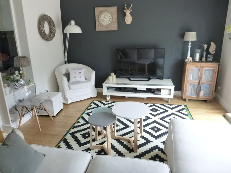 d co salon apr s un salon scandinave leading inspiration culture. Black Bedroom Furniture Sets. Home Design Ideas